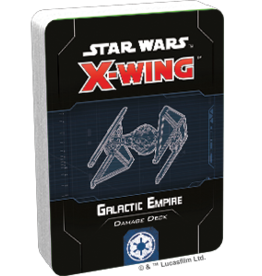 FFG Star Wars X-Wing 2.0: Galactic Empire Damage Deck