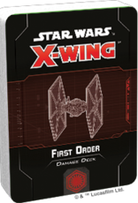 FFG Star Wars X-Wing 2.0 Miniatures Game: First Order Damage Deck