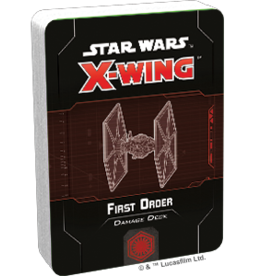 FFG Star Wars X-Wing 2.0 Miniatures Game: First Order Damage Deck