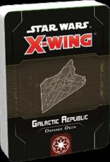 FFG Star Wars X-Wing 2.0: Galactic Republic Damage Deck