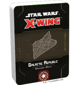 FFG Star Wars X-Wing 2.0: Galactic Republic Damage Deck