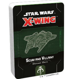 FFG Star Wars X-Wing 2.0: Scum and Villainy Damage Deck