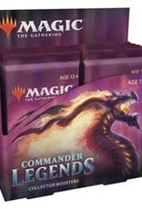 WOTC Commander Legends: Collector Display (12 packs) - preorder