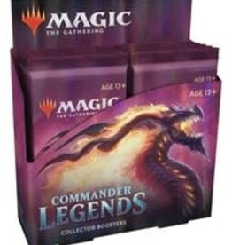 WOTC Commander Legends: Collector Display (12 packs)
