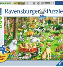 Ravensburger Puzzle 500 Pc LF: At the Dog Park