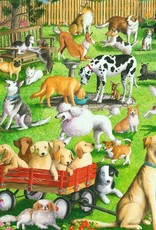 Ravensburger Puzzle 500 Pc LF: At the Dog Park