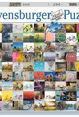 Ravensburger Puzzle 1500 Piece: 99 Bicycles