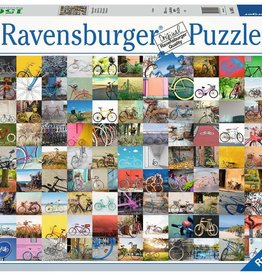 Ravensburger Puzzle 1500 Piece: 99 Bicycles