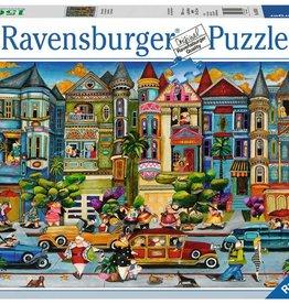 Ravensburger Puzzle 1500 Piece: The Painted Ladies