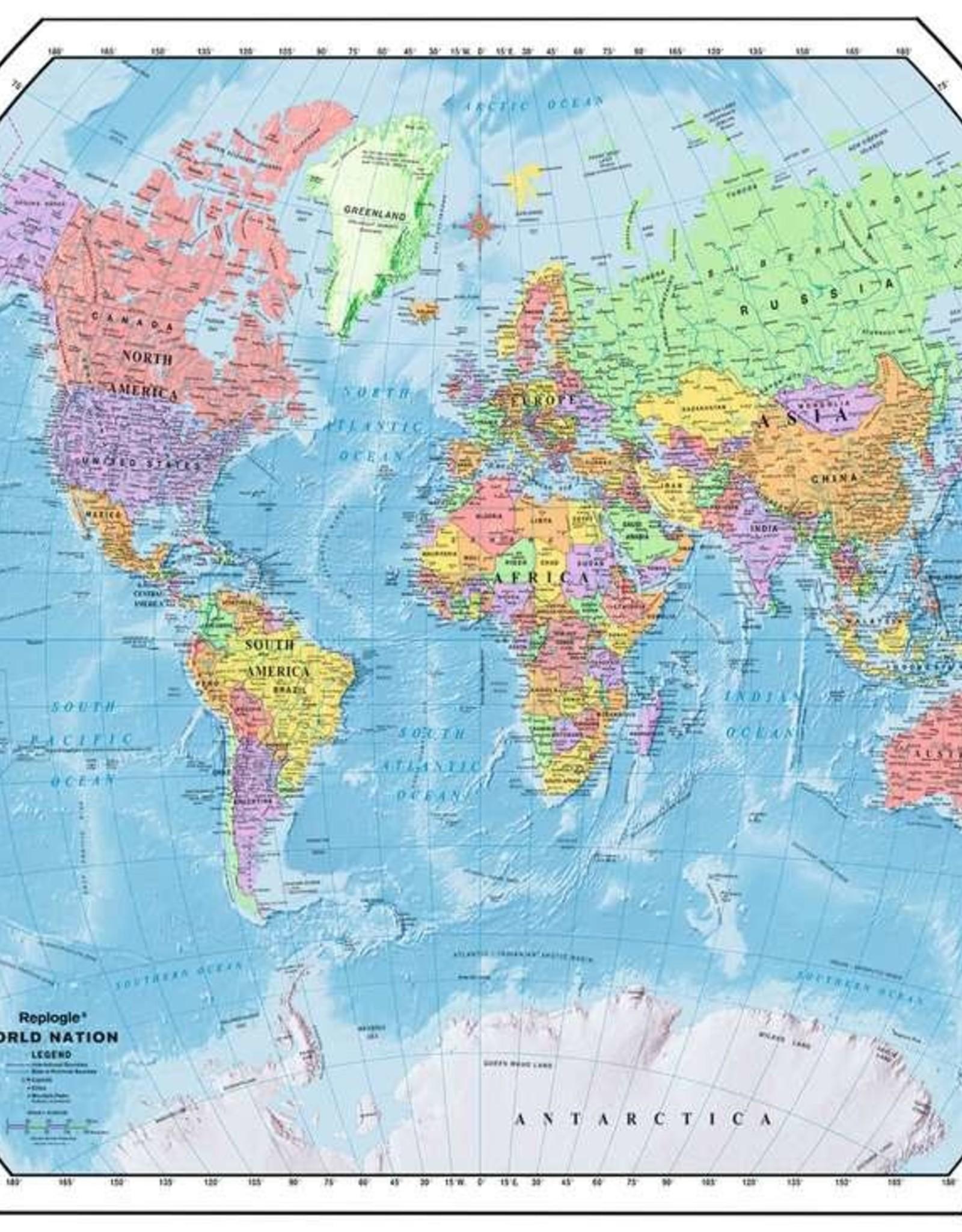 Ravensburger Puzzle 1000Pc: Political World Map