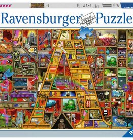 "Ravensburger Puzzle 1000Pc: Awsome ""A"""