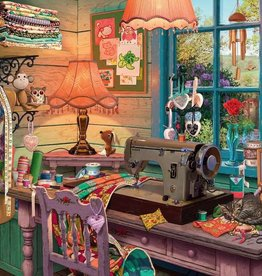 Ravensburger Puzzle 1000Pc: The Sewing Shed