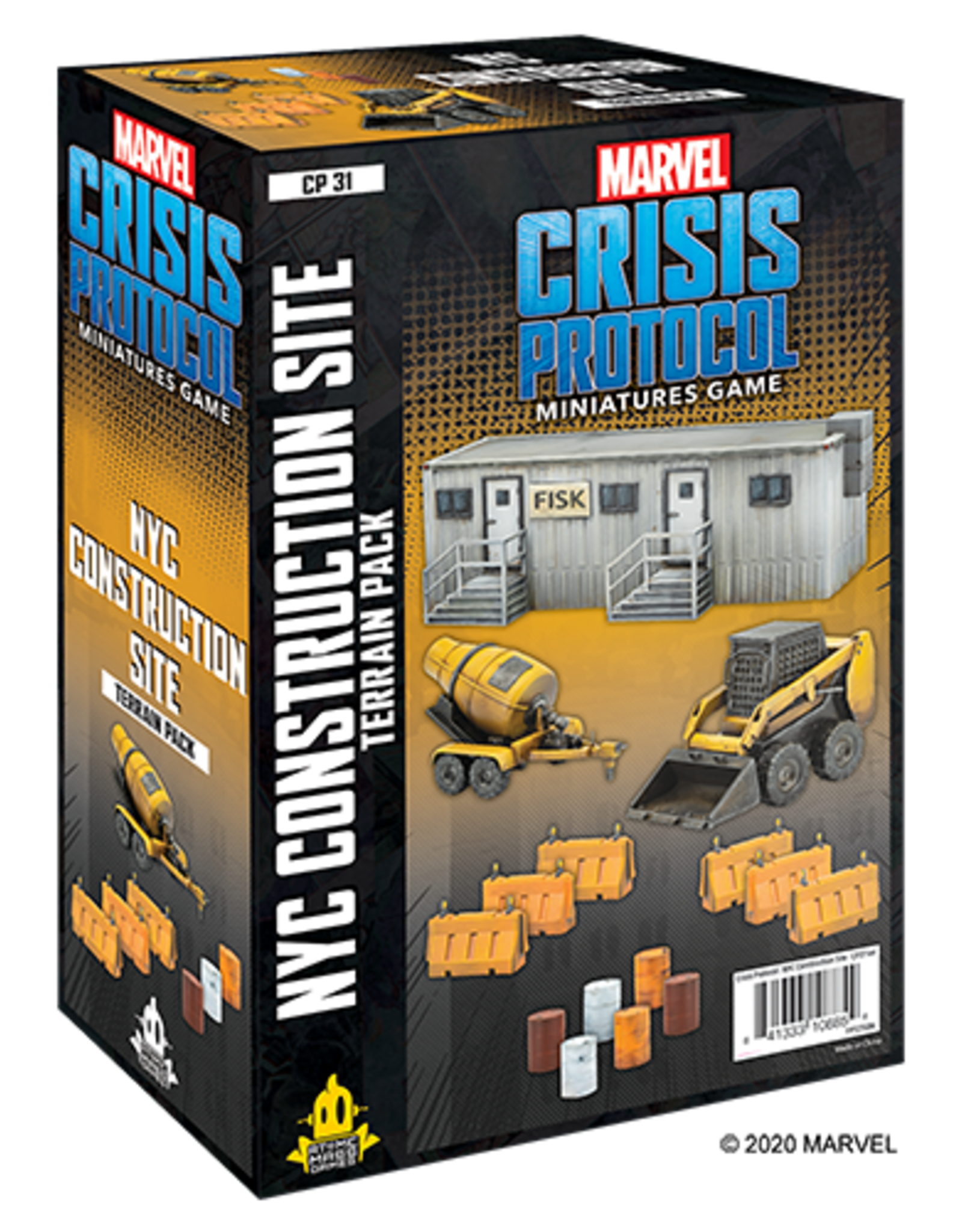 Atomic Mass Marvel Crisis Protocol:  NYC Construction Site Terrain