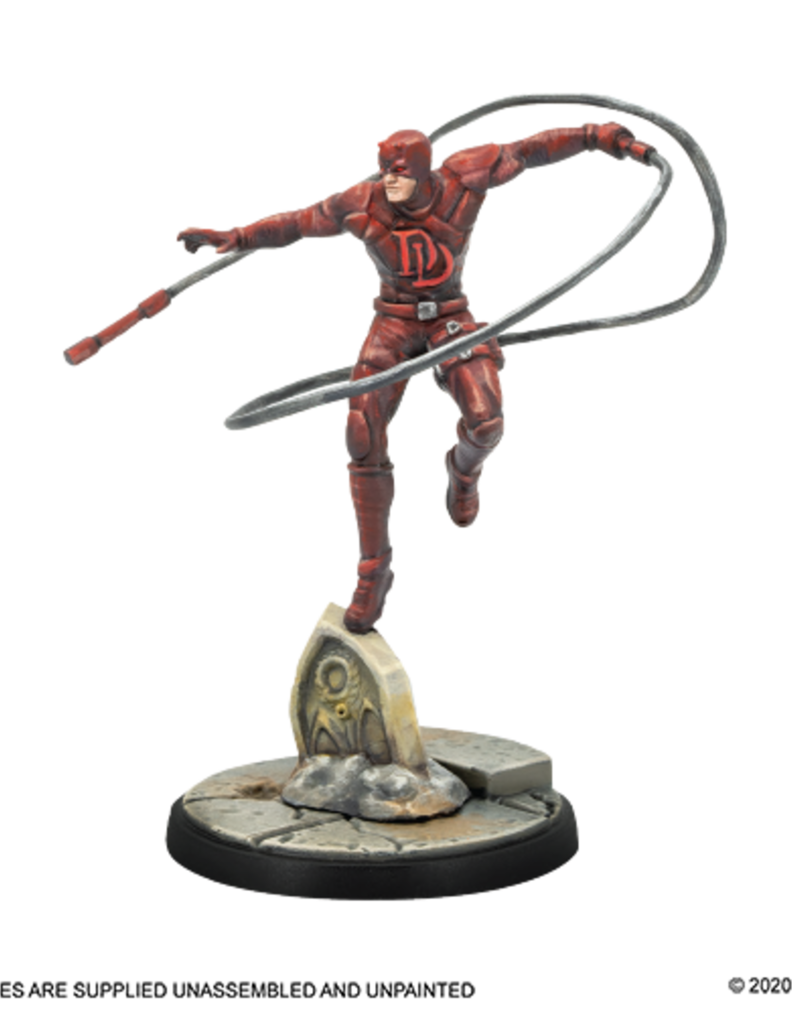 Atomic Mass Marvel Crisis Protocol:  Bullseye and Daredevil