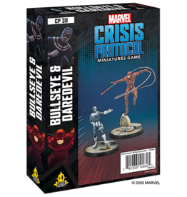 Atomic Mass Marvel Crisis Protocol:  Bullseye and Daredevil