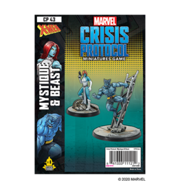 Atomic Mass Marvel Crisis Protocol: Mystique and Beast