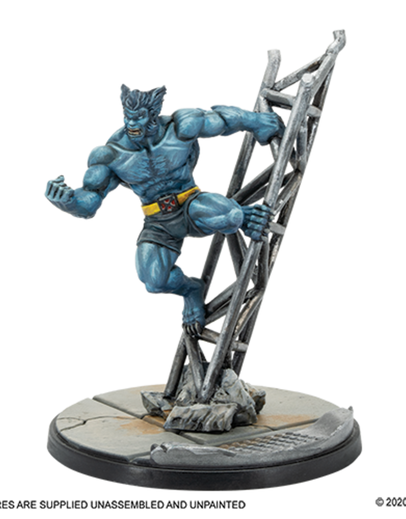Atomic Mass Marvel Crisis Protocol: Mystique and Beast