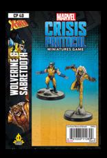 Atomic Mass Marvel Crisis Protocol: Wolverine and Sabertooth