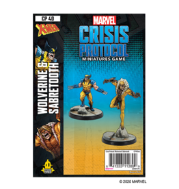 Atomic Mass Marvel Crisis Protocol: Wolverine and Sabertooth