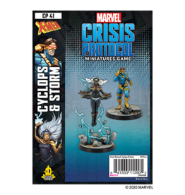 Atomic Mass Marvel Crisis Protocol: Cyclops and Storm