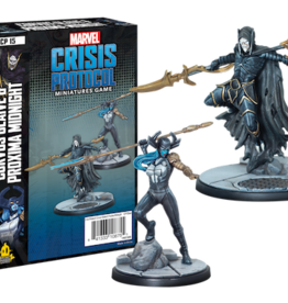 Atomic Mass Marvel Crisis Protocol Corvus Glaive & Proxima Midnight Character Pack