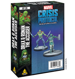 Atomic Mass Marvel Crisis Protocol: Drax and Ronan the Accuser