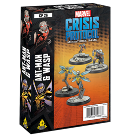 Atomic Mass Marvel Crisis Protocol Ant-Man and Wasp