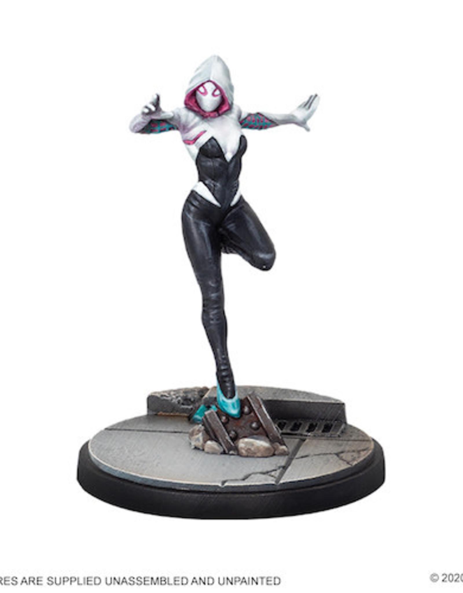 Atomic Mass Marvel Crisis Protocol: Spider-Man & Ghost-Spider