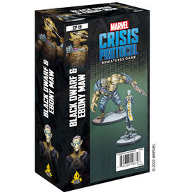 Atomic Mass Marvel Crisis Protocol Black Dwarf and Ebony Maw