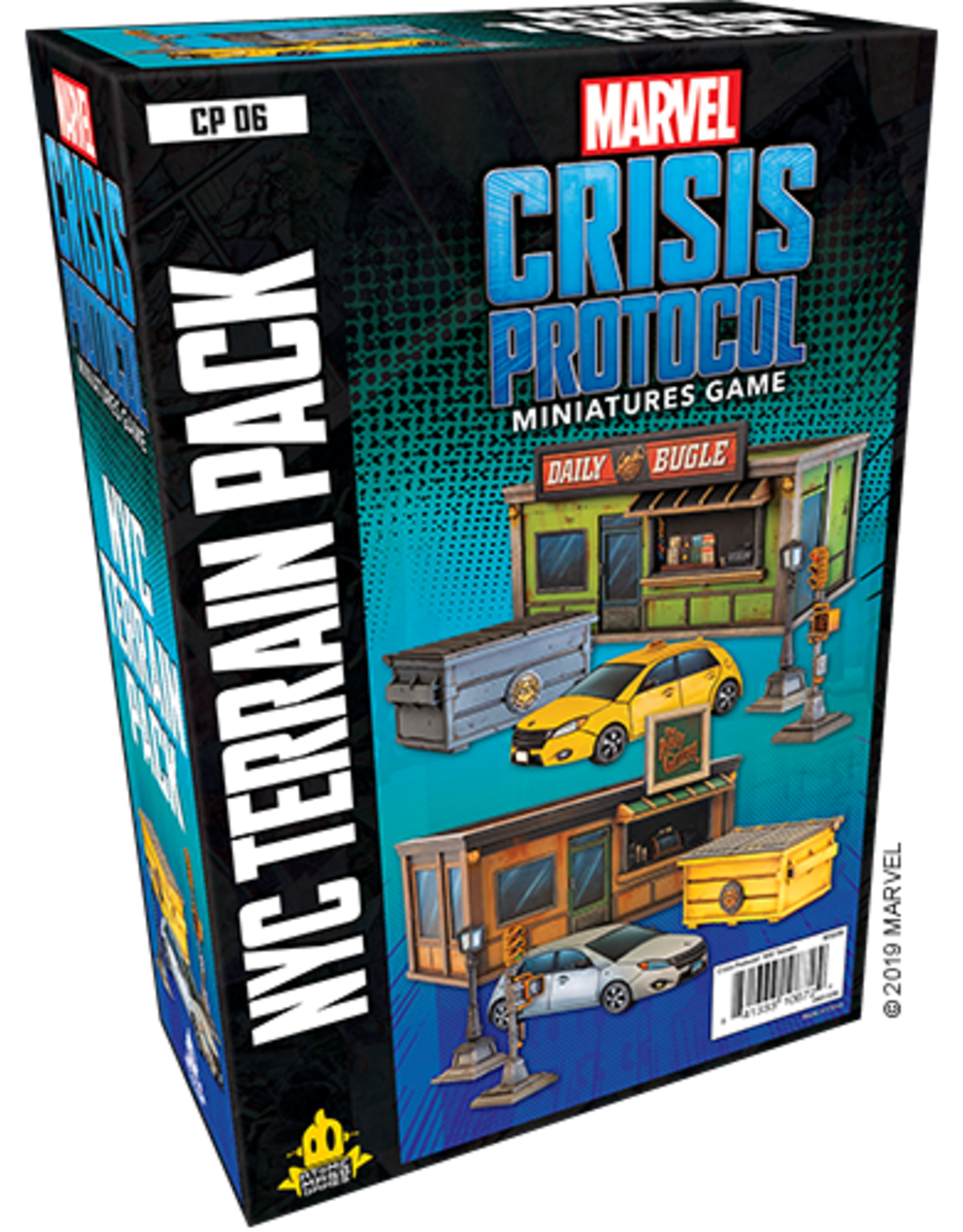 Atomic Mass Marvel Crisis Protocol NYC Terrain Pack