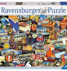 Ravensburger Puzzle 1000 pc: Road Trip USA