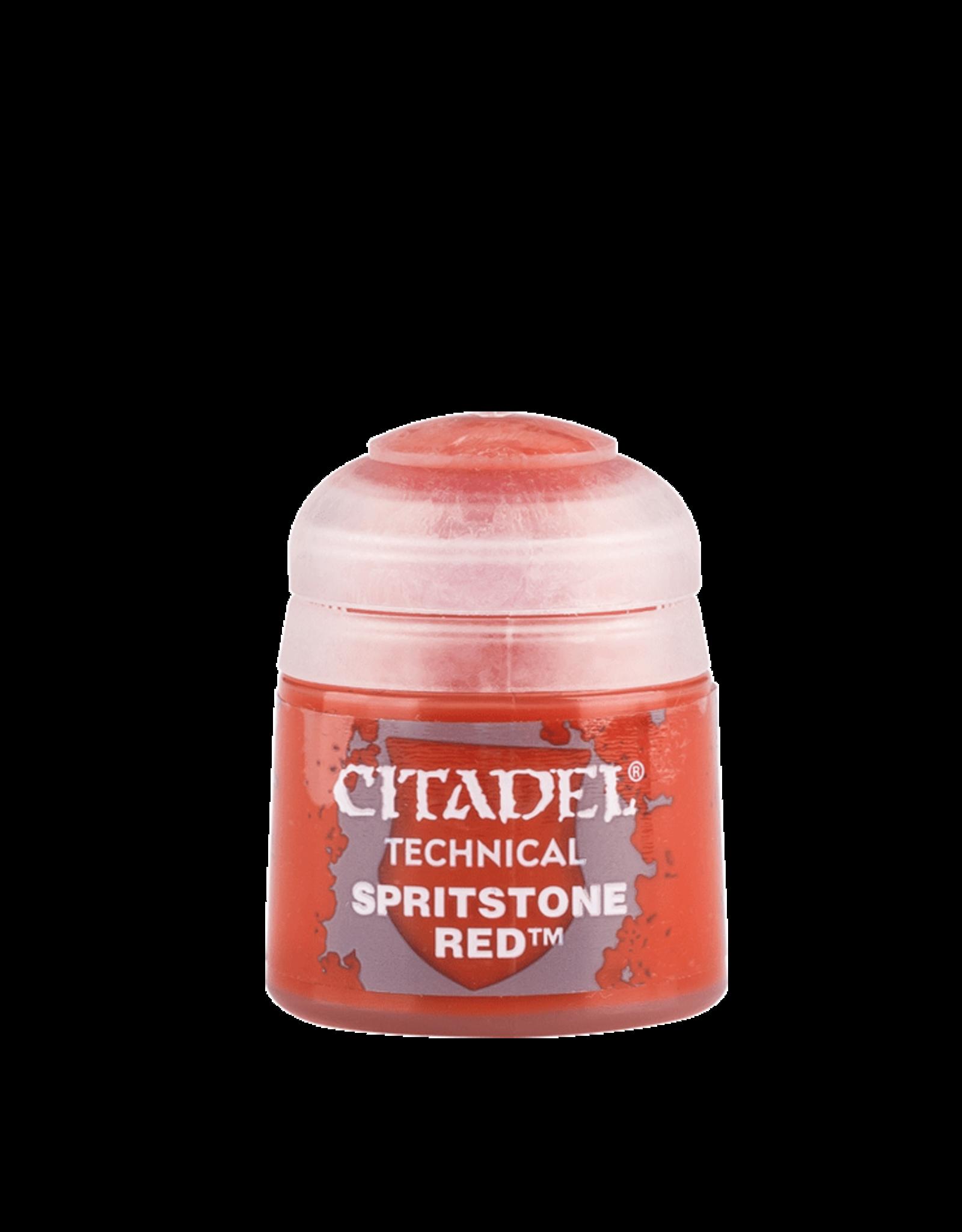 Games Workshop Citadel Paint: Technical - Spiritstone Red (12 ml)