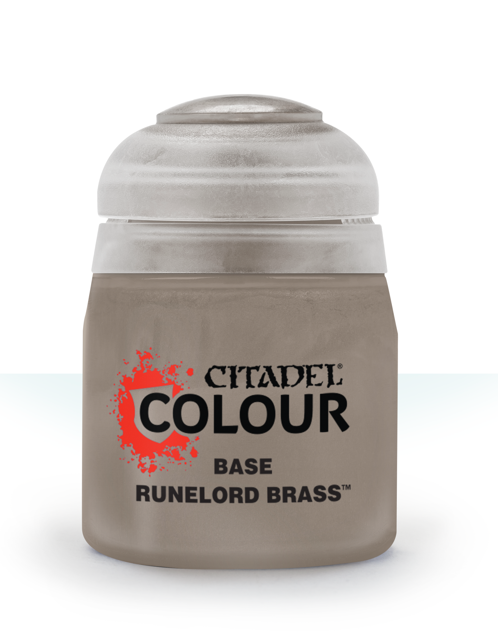 Games Workshop Citadel Paint: Runelord Brass Base