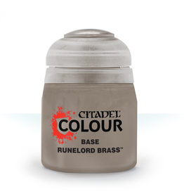 Games Workshop Citadel Paint: Runelord Brass Base