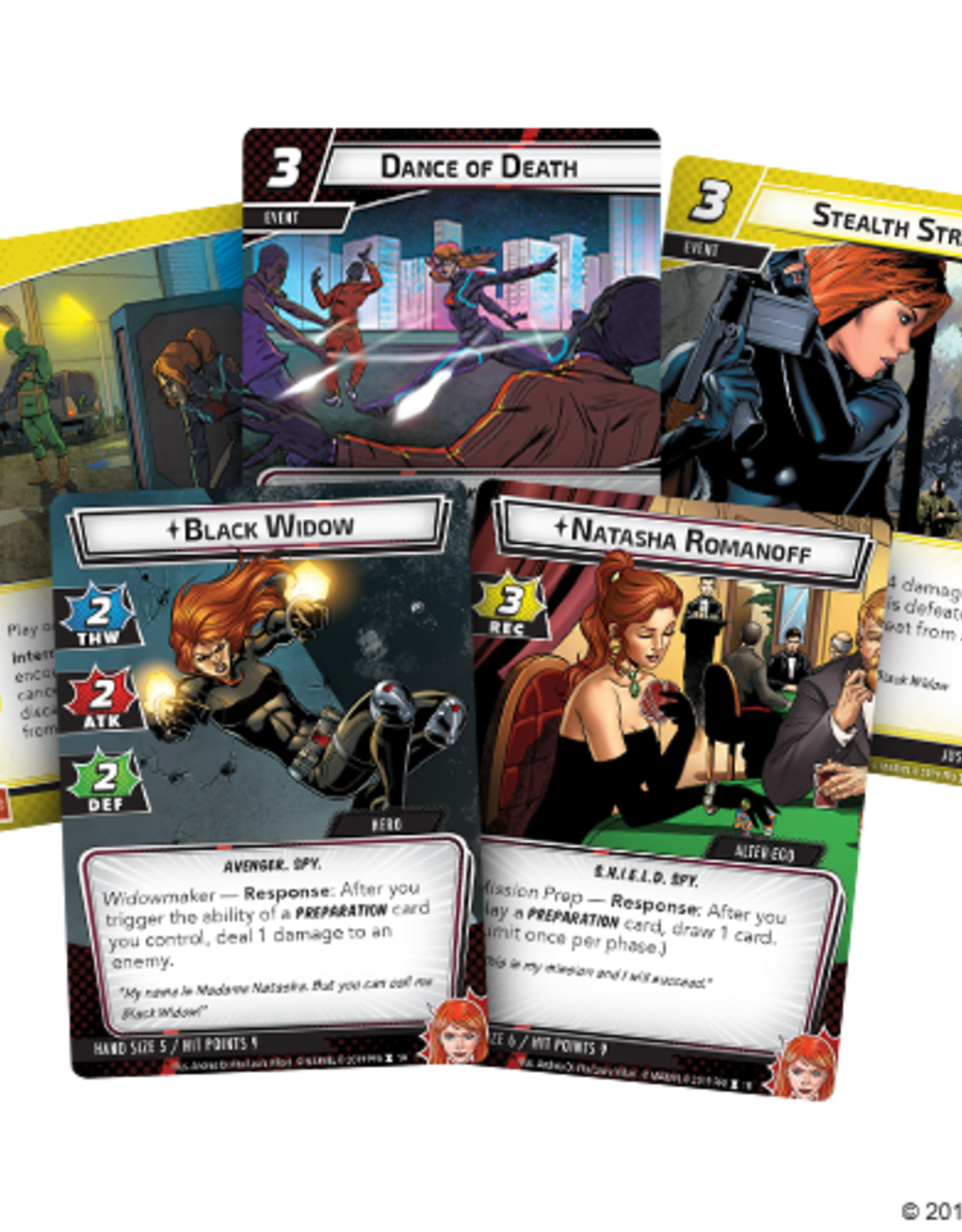 FFG Marvel Champions LCG: Black Widow Hero Pack