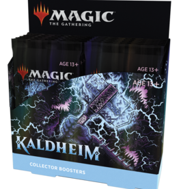 WOTC MTG: Kaldheim Collector Display (Pre-Order)