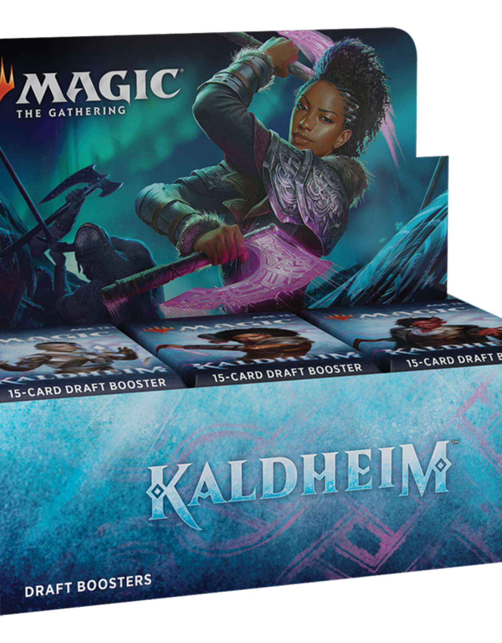 WOTC MTG Booster Box: Kaldheim Draft Booster Display - 36 Packs