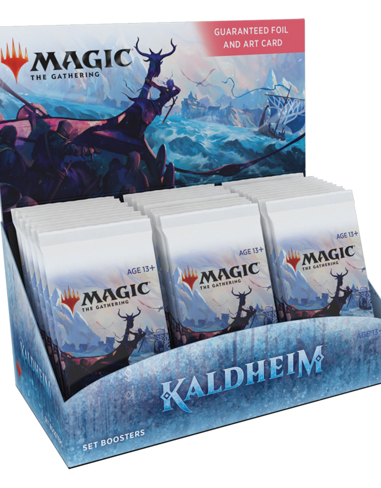 WOTC MTG Kaldheim - Set Booster Box (30 Packs)