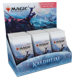 WOTC MTG Kaldheim - Set Booster Box (30 Packs) - Pre-Order