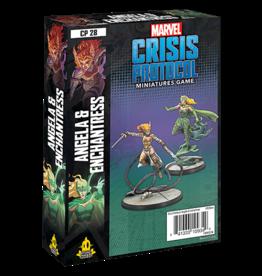 Atomic Mass Marvel Crisis Protocol: Angela and Enchantress