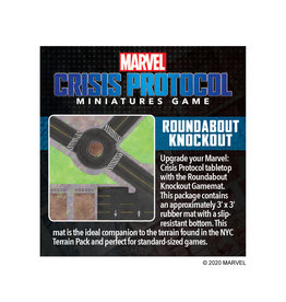 Atomic Mass Marvel Crisis Protocol: Roundabout Knockout Game Mat