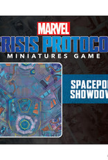 Atomic Mass Marvel Crisis Protocol: Spaceport Showdown Game Mat