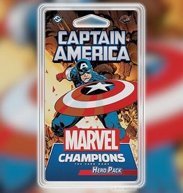 FFG Marvel Champions LCG: Captain America Hero Pack