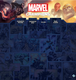 FFG Marvel Champions LCG: 1-4 Player Game Mat