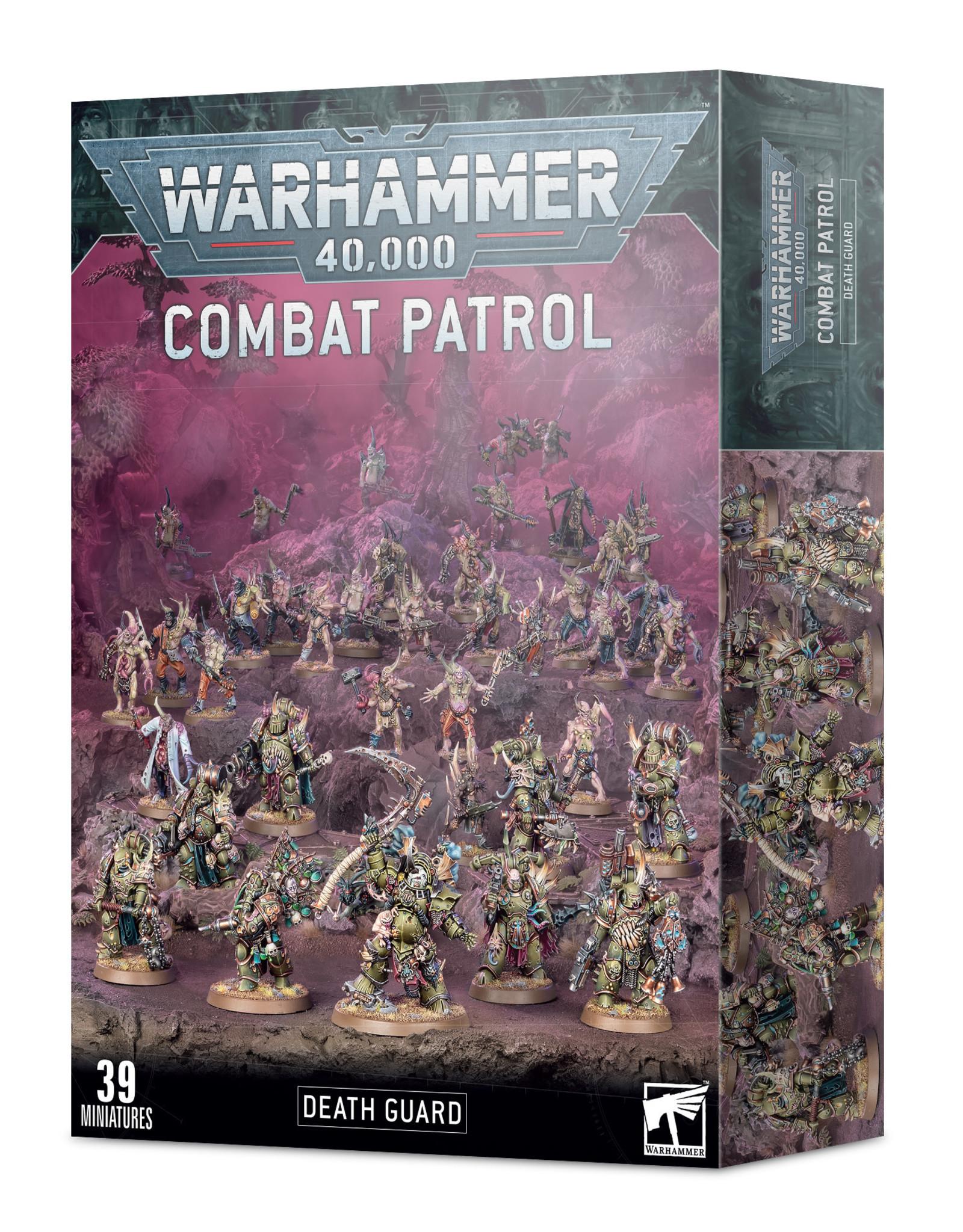 Games Workshop Warhammer 40K: Death Guard: Combat Patrol
