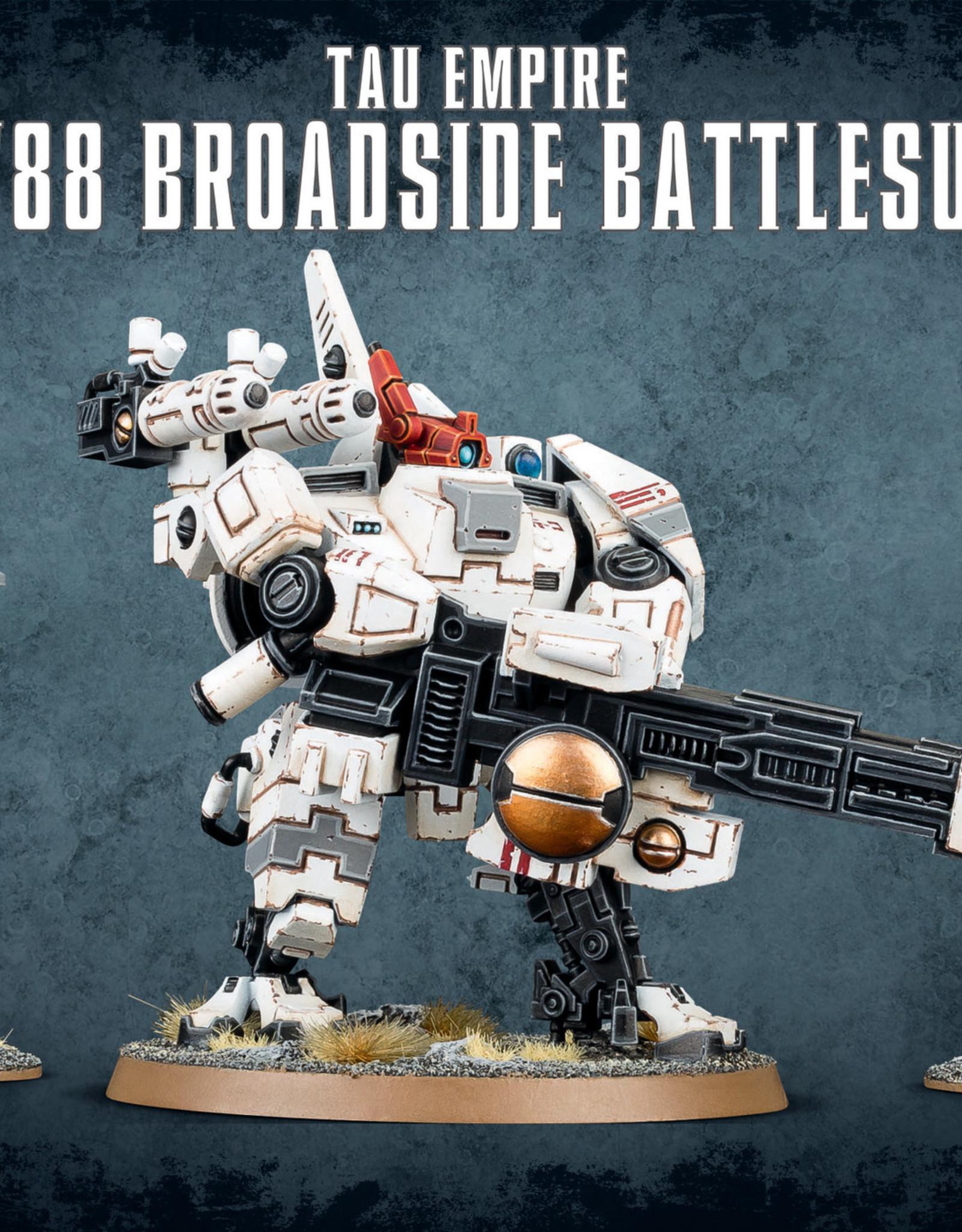 Games Workshop Warhammer 40K: Tau Empire XV88 Broadside Battlesuit