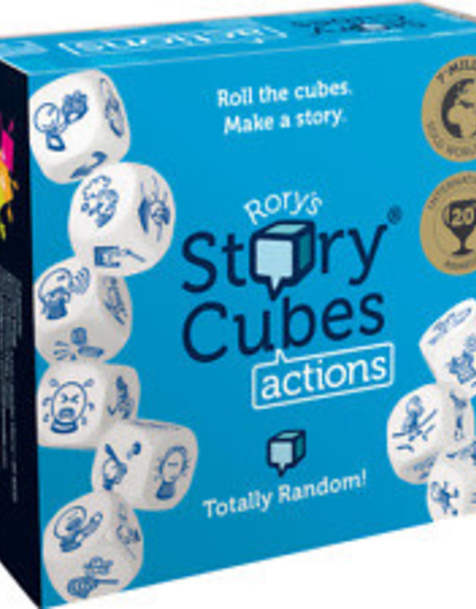 AsmodeeNA Rorys Story Cubes: Actions Box (Blue)