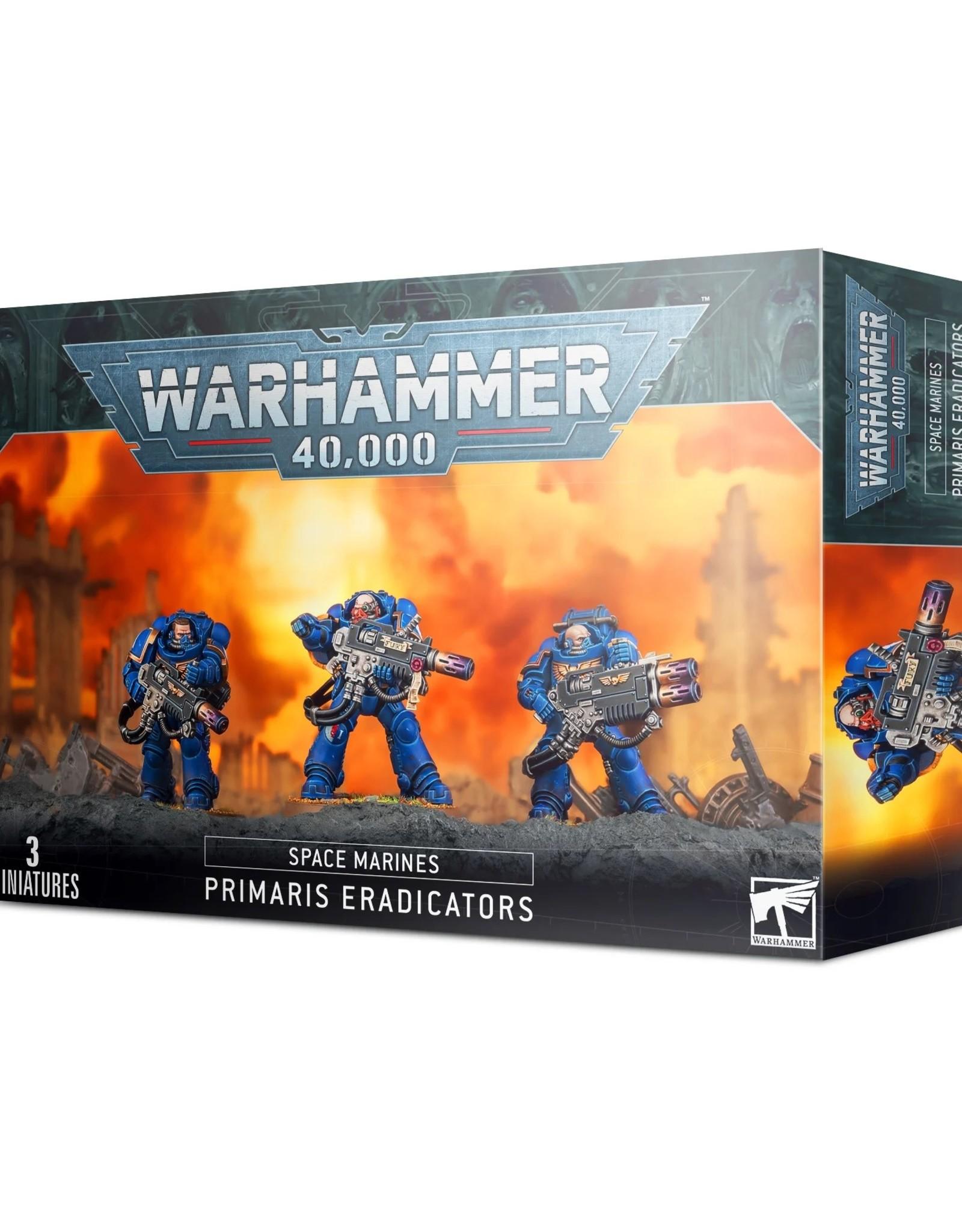 Games Workshop Warhammer 40K: Space Marine Primaris Eradicators
