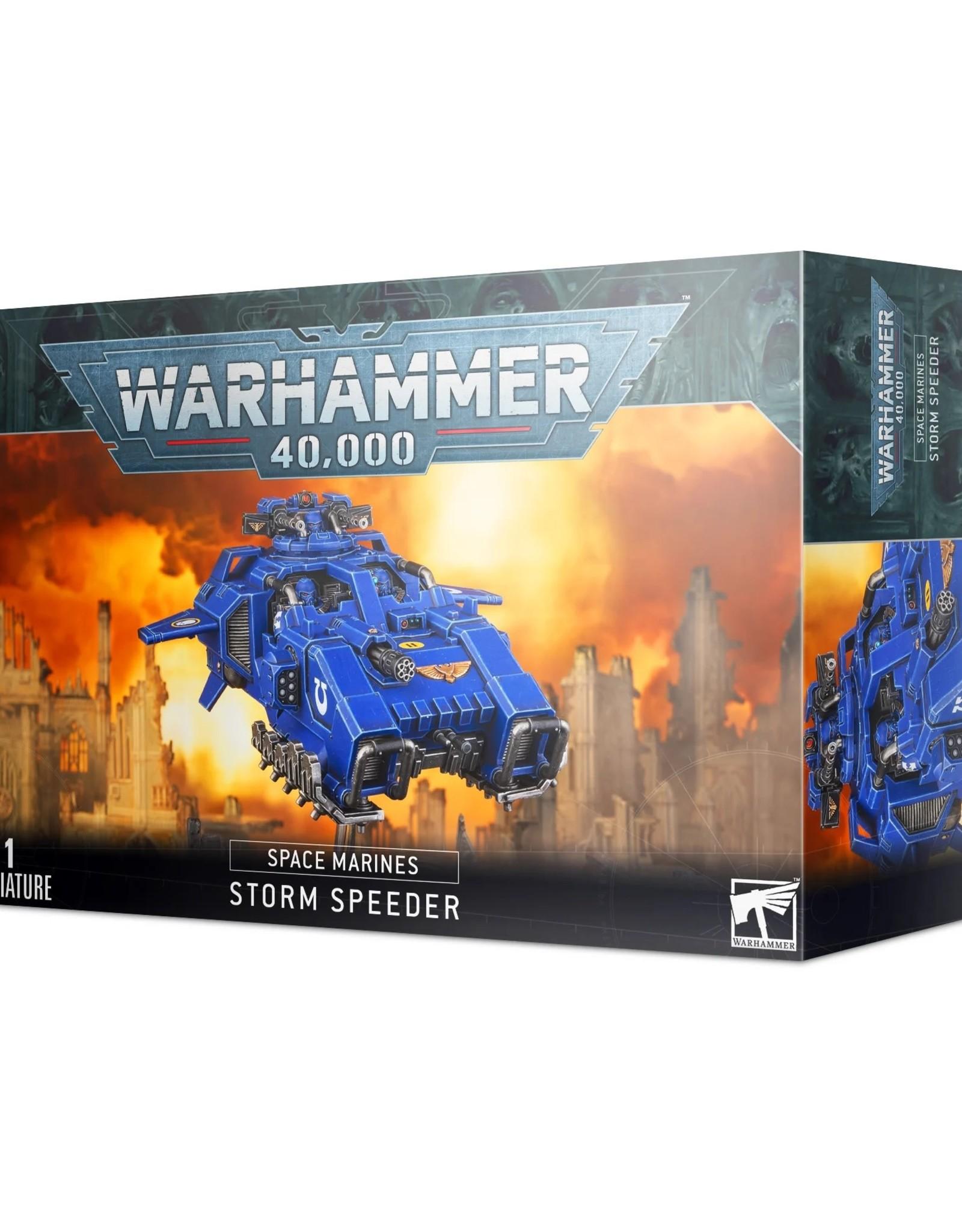 Games Workshop Warhammer 40K: Space Marine - Storm Speeder