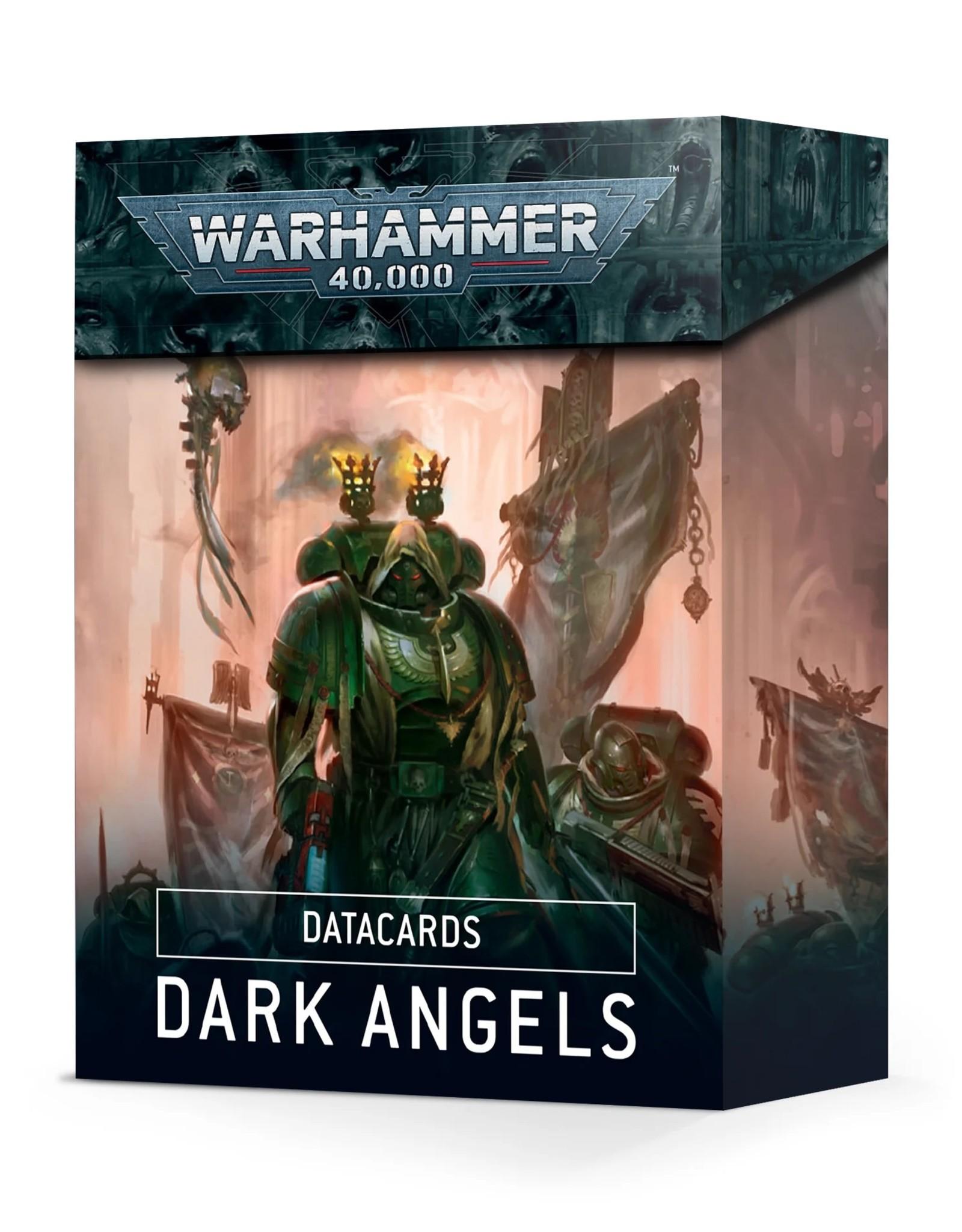 Games Workshop Warhammer 40k: Datacards: Dark Angels